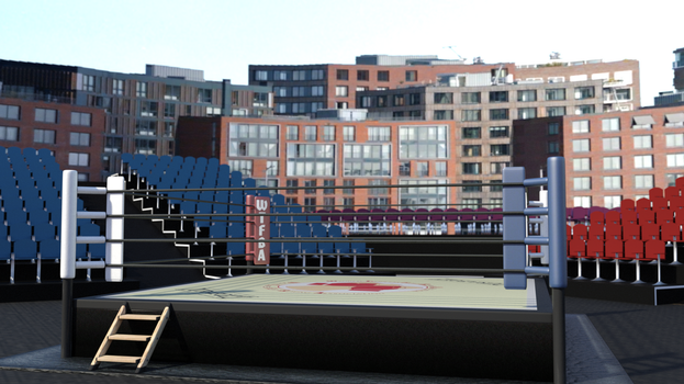 Outdoor Stadium, phase 1 by AFCombat