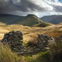 Gray Crag by Mohain