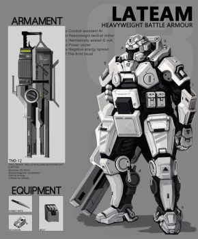 Lat Battle Armour 03292013 by WarrGon