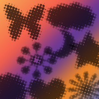 Halftone Shapes by serene1980