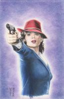 Agent Carter Original Art by DenaeFrazierStudios