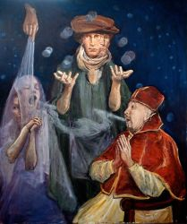 The Metaphysician and Monsignor by langosy