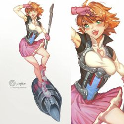 Nora  of RWBY by THEJETTYJETSHOW