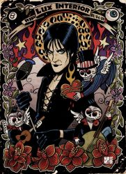 Lux Interior Tribute by Marie-oz