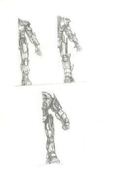 Halo Fan Art - the Overseer Concepts 2 by Partin-Arts
