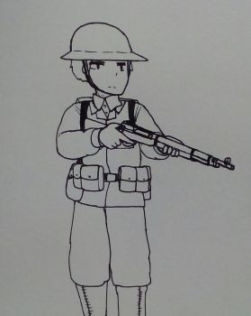US-Philippine Scout Army 1940s by MP6-Serza