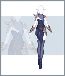 [Close] Adoptable Outfit Auction 161 by Kolmoys