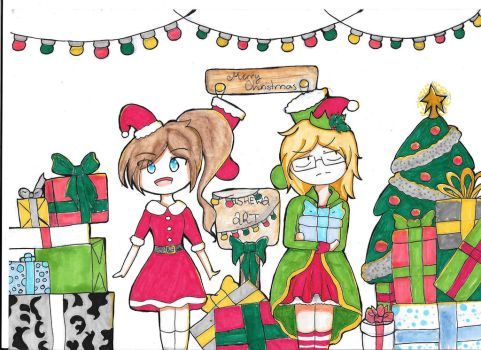 Christmas Themed Banner by Tashewa