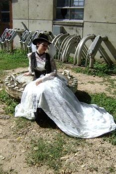 Steampunk Bride in the Sun 4 by HiddenYume-stock