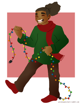 Festive Boy by KK-sis