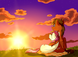 Autumn x Roseluck by SigmaNas