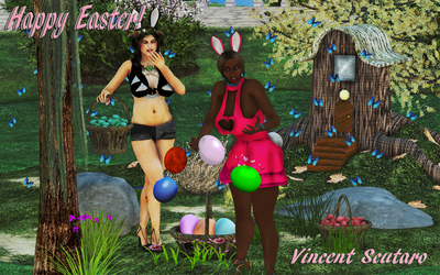 HOPPY EASTER 2011 Greeting Ver by hisstorymn