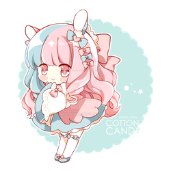 [AT] Cotton Candy by Himu-Himu