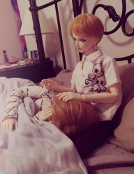 BJD ART I: BROTHER by AlloraLang