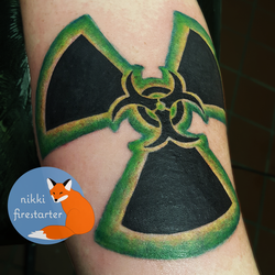 Bioactive Tattoo by NikkiFirestarter