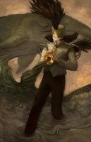 The Trumpeter by kiwikitty37