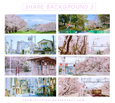 SHARE BACKGROUND #3 by JasMinVivien