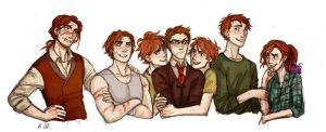 Weasley by drakonarinka