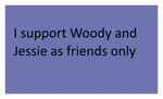 Woody and Jessie As Friends Stamp by SmoothCriminalGirl16