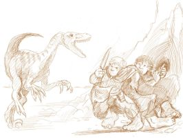 Velociraptors are Awesome by sumimasen