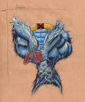 beast sketch by camillo1988