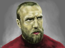 Portrait studies - Daniel Bryan by parin81270024