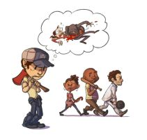L4D2 fun with chibis by SnuffyMcSnuff