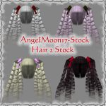 Hair 2 Stock by AngelMoon17