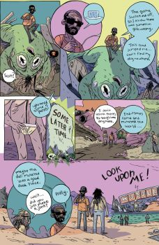 Lonely Apocalypse Page 2 by blackpassmore