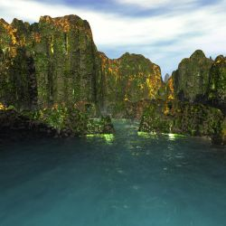 Dwarf Cliffs. by Dakorillon