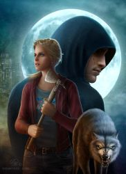 Magic Stars (Gray Wolf Book 1): cover by Celtran