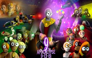 9 Apocalypse new poster by arkham34