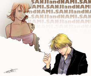 Sanji and Nami - Updated by nami64