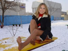 Beautiful Hottie in the Cold 4 by drknyght6