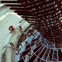 Reichstag's dome by someonestrace