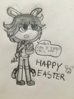 Happy Easter 2018 by SquickWeeb