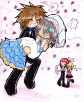 TO THE WEDDINGMOBILE, RIKU 8D by Shadow-Luna