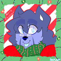 //CHARACTER// Grace - Christmas Icon by SpacyGalaxy