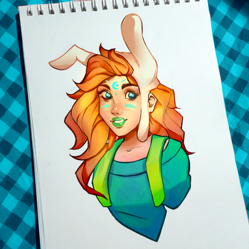 Fionna the Human 2! by MarvinT123