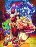 StreetFighter vs Darkstalkers by eldeivi
