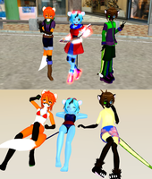 MMD Furry Pack Update Download 3 by Nanashione
