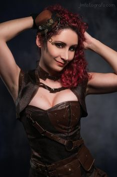 GeekAndMonday - Steampunk by MorganaCosplay