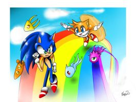sonic colours by Vanni2u