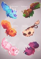 [CLOSED] Adoptables batch by miloudee