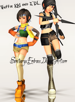 {MMD Download} KH1 + KH2 Yuffie by MariCorsair