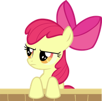 Apple Bloom serious by RatchetHuN