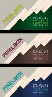 Pixelbox Business Cards by sixfoothazel