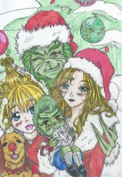 The Grinch Family by Inubaki