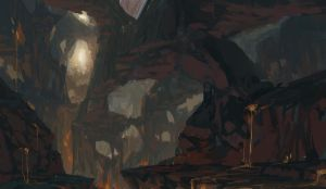 Painting a Cave by Takumer