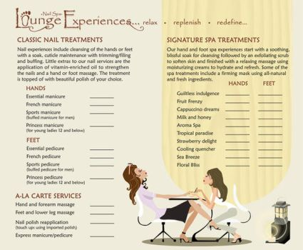 a Nail spa brochure 2 by margewhitty